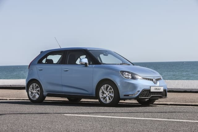 MG3 first drive