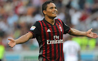 Montella: Bacca will start if he picks a good restaurant!