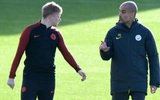 De Bruyne defends Guardiola tactics