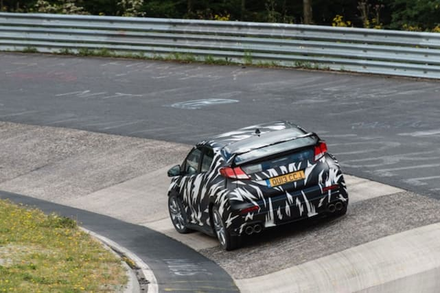 Honda Civic Type-R in testing