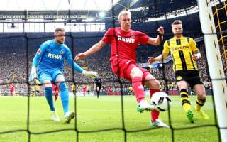 Borussia Dortmund 0 Cologne 0: Stoger brings BVB back to earth