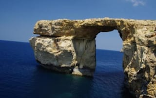 Malta's famous Azure Window collapses in storm