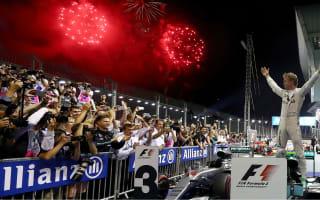 Rosberg regains championship lead after third consecutive win