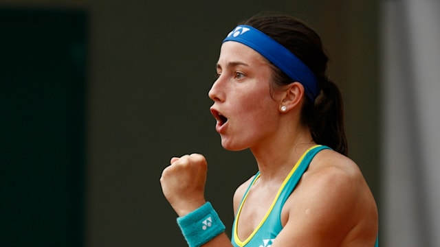 Sevastova v Goerges in Mallorca final