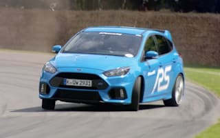 Ford Focus RS enters final development stage on video