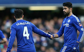 Hoddle: Costa, Fabregas improved since Mourinho exit