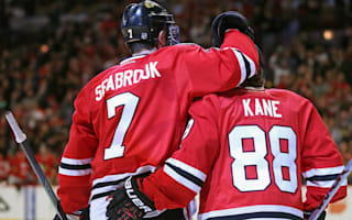 Blackhawks make it eight straight, overtime goal lifts Hurricanes