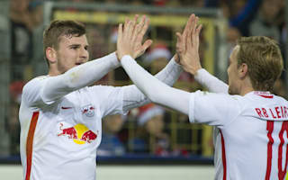 RB Leipzig go six points clear of Bayern