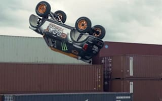 Video: Rally-spec Mini does a backflip