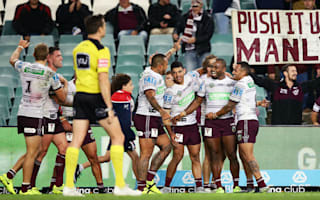 WATCH: Manly in full voice after silencing Roosters