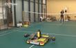 Chinesischer Roboter spielt vollautomatisch Badminton