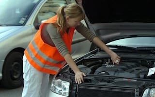 More women doing car maintenance