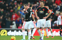 Rooney concedes top-four hopes are slim after Sunderland loss