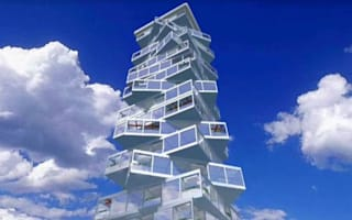 Incredible rotating skyscraper hotel planned for Dubai