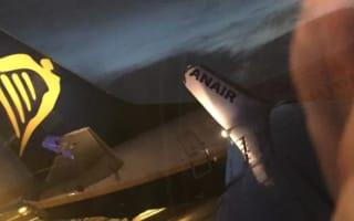 Ryanair planes collide at Dublin airport