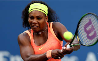 Serena battling knee injury in Perth