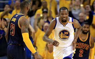 LeBron: Durant the difference between Cavs and Warriors