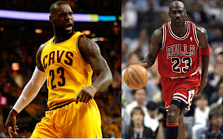 My game is 'completely different' compared to Jordan - LeBron