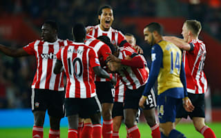 Southampton 4 Arsenal 0: Improved Saints deny Wenger's men top spot