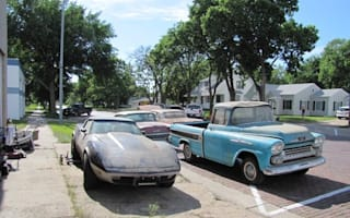 Amazing 'time capsule' of vintage Chevys discovered in Nebraska