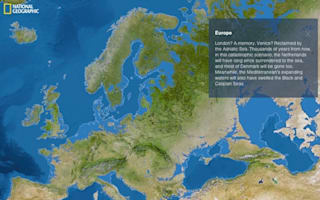 Pictures: Which countries would disappear if world's ice melted?