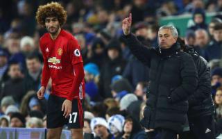 Mourinho defends decision to bring on Fellaini