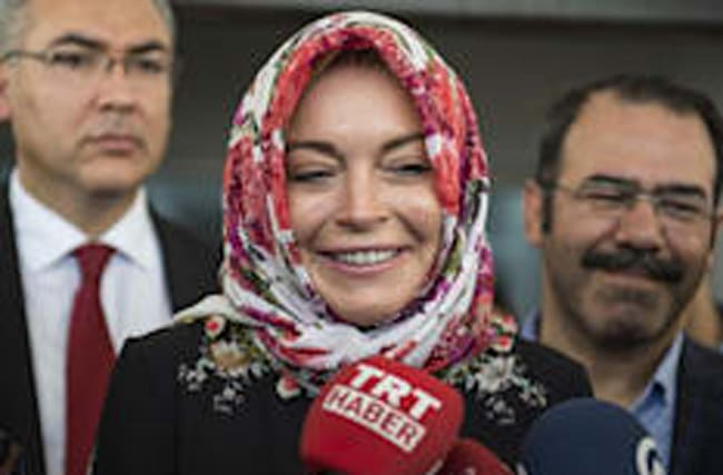 Lindsay Lohan: 'I was racially profiled at the airport'
