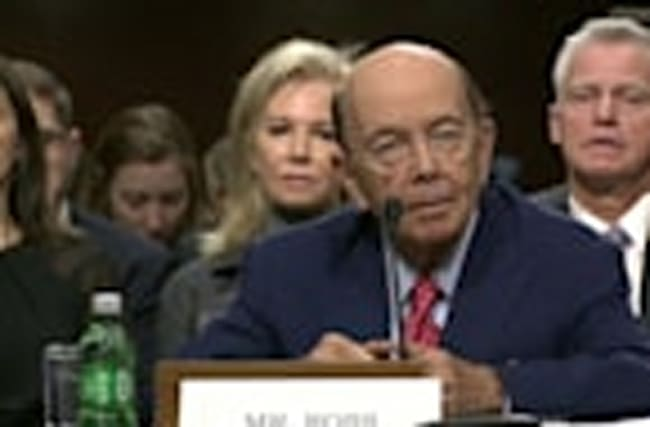 'I am pro-sensible trade': Wilbur Ross to Senate