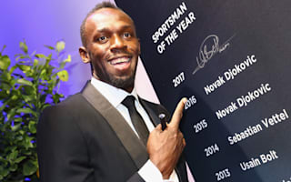 Bolt delighted to be alongside 'great' Federer