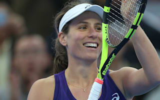 Konta opens door to top 10 with Keys victory