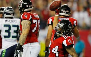 Falcons punish Seahawks in blowout win