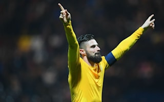 Giroud and Ramsey surprised by Preston commitment