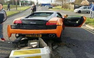 'I'll buy another one tomorrow' laughs Lamborghini crash driver