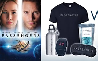 Win a sci-fi goodie bag to celebrate the release of Passengers in the TalkTalk TV Store