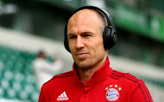 Robben laughs off Bayern exit rumours