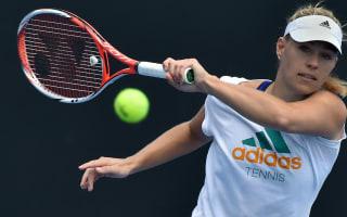 Kerber embracing top-ranking at Australian Open