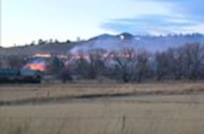 Horse feared killed in Colorado fire