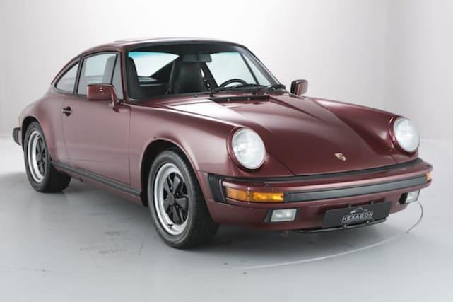 Timewarp Porsche 911 Carrera goes to auction