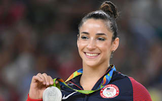 Raiders player lands a date with Olympic gymnast Raisman