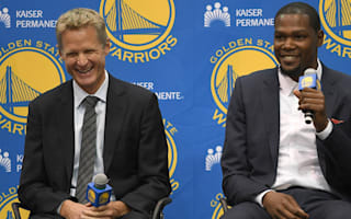 Warriors unsure if Durant will start, jokes coach Kerr