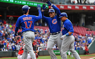 Cubs overcome Reds, Carrasco delivers