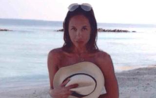 Myleene Klass Instagrams topless holiday photo