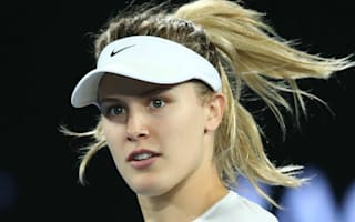 Bouchard meets 'Super Bowl Twitter date' for Nets game