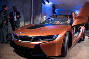 BMW 2019 i8 Roadster and Coupe