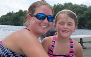 Five-year-old girl killed by leaping sturgeon during family boat trip