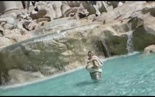 Woman fined €450 for dip in Rome's Trevi Fountain