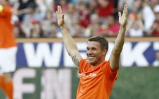 Podolski to leave Galatasaray for Vissel Kobe