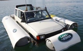 Meet the 25-year-old amphibious Land Rover