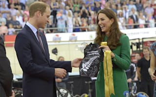 Kate and William gifted tiny Lycra shirt for Prince George at velodrome opening