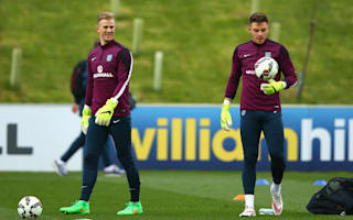 England keeper spot up for grabs with Butland injury